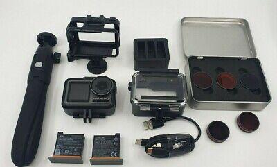 DJI Osmo 12MP 4K Action Camera EXTRA BATTERIES FILTERS BUNDLE