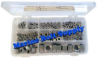 Type 316 Stainless Steel Hex Nut Machine Hex Nut Assortment Kit