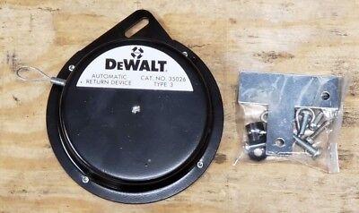Dewalt 122122-00 Radial Arm Saw Automatic Return Devicespirator Cat. No. 35026