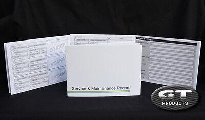 MG SERVICE HISTORY BOOK & MAINTENANCE RECORD LOG