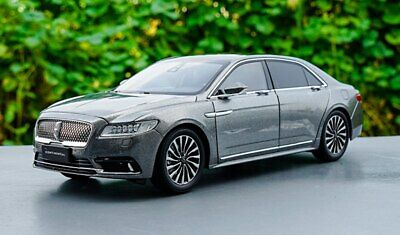Dealer Edition Lincoln Continental 1/18 Scale Diecast Car Model Toy GRAY