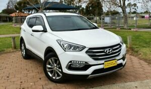 2015 Hyundai Santa Fe DM2 MY15 Elite White 6 Speed Sports Automatic Wagon Ingle Farm Salisbury Area Preview