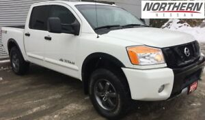 2014 Nissan Titan 4X4 CREWCAB PRO 4X BACKUP CAMERA, HEATED SEATS