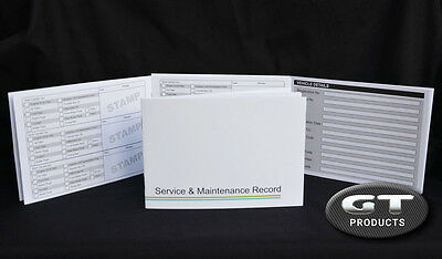 BMW SERVICE HISTORY BOOK & MAINTENANCE RECORD LOG