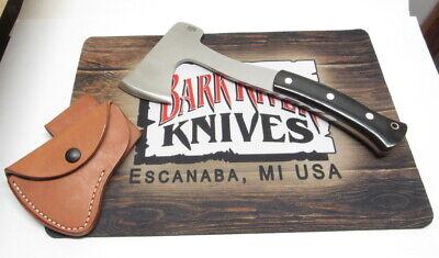 Bark River Knives Hunter's Axe, A-2, Black Canvas Micarta, Red Liners, 1st Run!