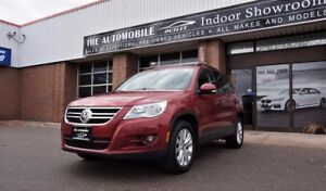 2009 Volkswagen Tiguan AWD 4motion COMFORTLINE PANO ROOF NO ACCI