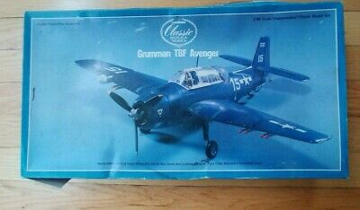Lindberg 1:48 Scale Grumman TBF Avenger for sale  Lincoln
