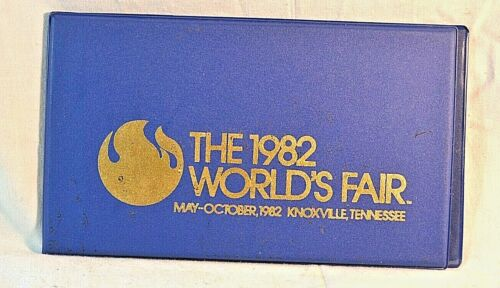 1982 Worlds Fair Knoxville TN 1st day Cover Issue 4 Stamps in WORLDS FAIR FOLDER