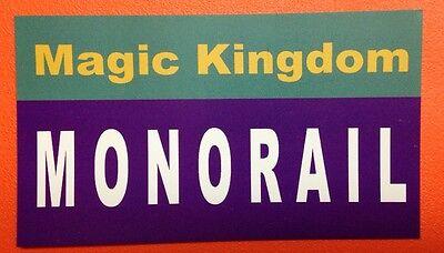 Walt Disney Magic Kingdom - Walt Disney World Sign Inspired Magnet 2
