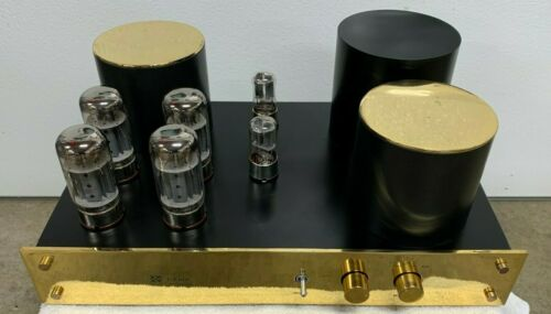Jolida SJ 801A Gold/Black Integrated Tube Amplifier 70 watts, with Upgrades
