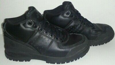 *RARE* Men's Vintage Reebok G-Unit ALL Triple Black High Top Shoes, Size: 4.5