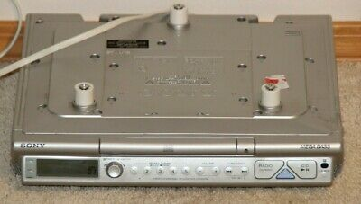 Sony ICF-CD543RM Under Cabinet CD Player Alarm Clock AM FM Radio