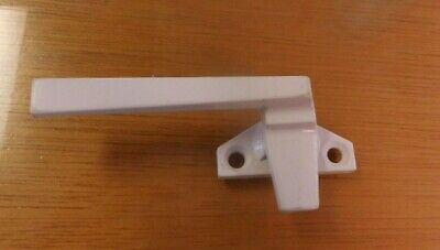 CRL Casement Or Basemet Window Locking Handle White Left Hand