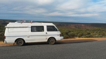 Campervan Mazda E2000 PopTop Full Equiped