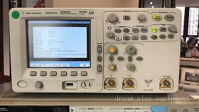 Agilent Dso6052a Digital Storage Oscilloscope 500mhz 4gsas Opt8mh
