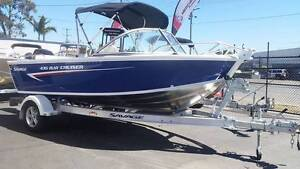 SAVAGE 435 BAY CRUISER 14 foot Mercury 50HP Four stroke Capalaba Brisbane South East Preview