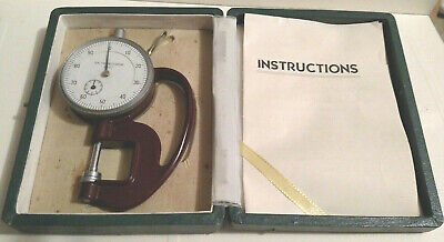 Vintage Dial Thickness Gauge 0.001 Made In Japan
