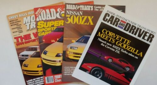 NISSAN 300ZX Magazines & Article 1990 Model