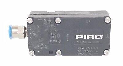 Piab Vacuum Products X10a6-an Vacuum Pump Mini X10 A Nbr X10a6an