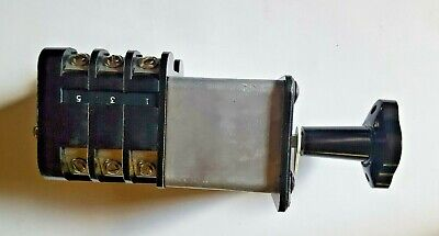 Ge General Electric Sbm Rotary Switch C3a02s1s2v1