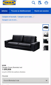 Couch leather