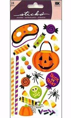 Halloween Party Planner (Halloween Sweet Treats Glitter Stickers Papercraft Planner Supply Pumkpin)