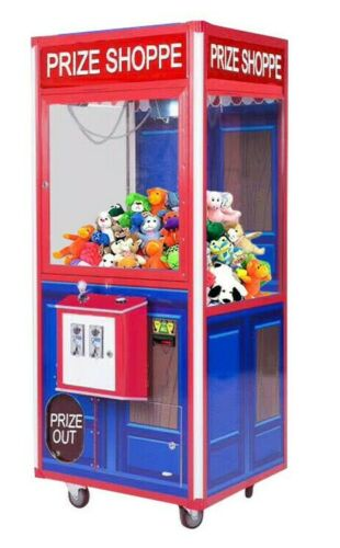 "Prize Shoppe 33"" Redemption Prize Crane Claw Machine Arcade Machine with DBA"