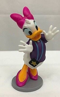 Friendly Duck - Disney BACKSTAGE FAN DAISY DUCK Cake TOPPER Toy Mickey Mouse & Friends NEW