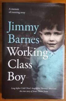 JIMMY BARNES WORKING CLASS BOY - HARD COPY