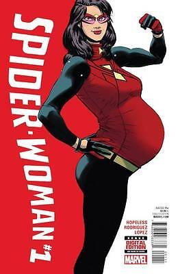 SPIDER-WOMAN #1, New, First printing, Marvel Comics (2015)