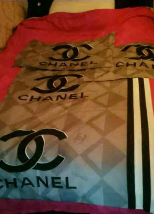 chanel bedding | in bedford, bedfordshire | gumtree