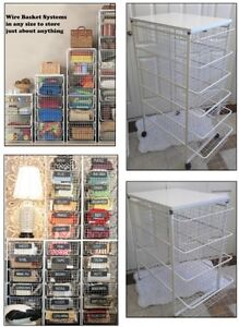 2 kinds Organizing Rack with Baskets (TEXT/CALL Pls)