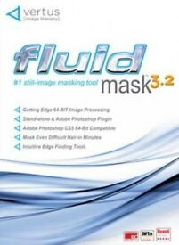 Vertus Fluid Mask 3.2 Photo Editing Software for Windows Computers
