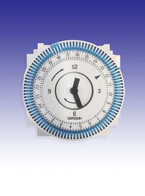 Grasslin Time Clock 24hr 220-240V AC 60Hz FM/1 STuZ-L