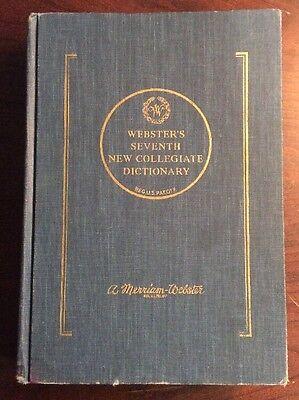Webster Seventh New Collegiate Dictionary  1969  Hardcover  Preownedbook Com