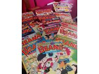 Collection of Beanos (16 comics) plus Dandy+special freebie (as shown in pic)