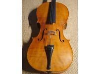 4/4 Full Size Professional Cello, Opus 27 by Juraj Vancik + Bow & Case