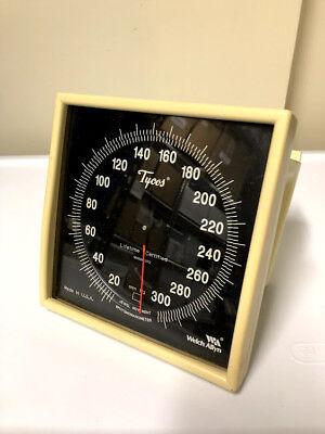 Old Tycos Welch Allyn 767 Wall Aneroid Sphygmomanometer