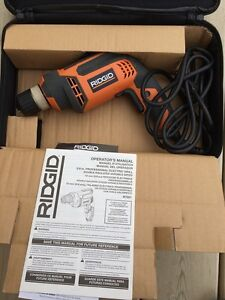 RIDGID Drill/Driver, in great condition, used only once!