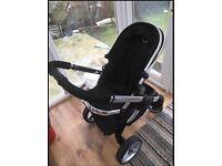 iCandy Peach Black Magic Pushchairs /Stroller