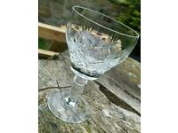 Royal Brierley Crystal Wine Glasses Set of 6