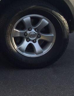 Toyota prado 4x wheels & tyres