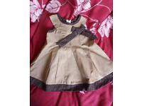 Luis Vuiton baby girls dress new