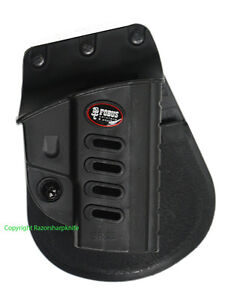 Fobus Evolution Series Paddle Holster for Ruger SR22 Rimfire Pistol SR22 New