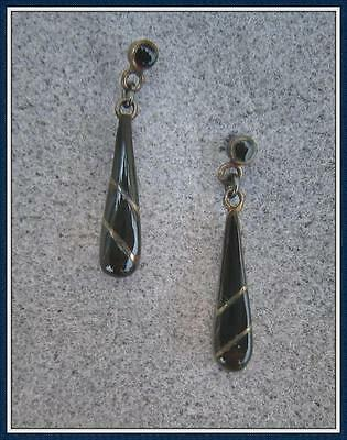 STERLING SILVER EARRINGS - ONE STYLE - TARNISHED - SCRAP/NON-SCRAP (E901J-SS)