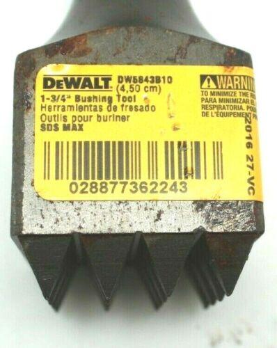 "DeWalt DW5843B10 1-3/4"" x 9 1/2"" Bushing Tool SDS Max Shank"