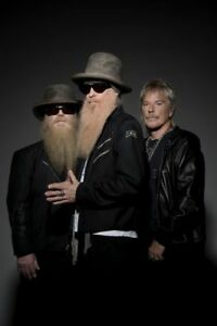 2 ZZ TOP TICKETS FOR SALE