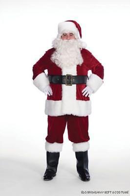 Erwachsene Weihnachten 9 Teiliger Professionell samt Crimson Weihnachtsmann (Professionelle Erwachsene Kostüme)