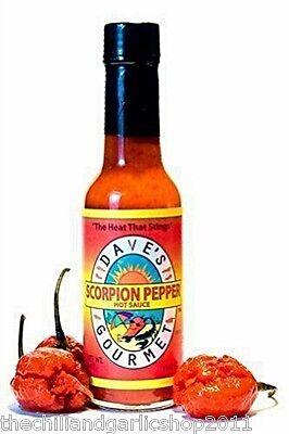 Dave's Gourmet Scorpion Pepper Hot Sauce - Gourmet Pepper Hot Sauce