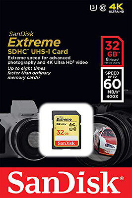 Sandisk 32g Hs Extreme C10 Sd Card For Canon Sx540 Sx520 ...